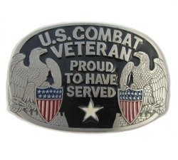Klamra do pasa  - US COMBAT VETERAN