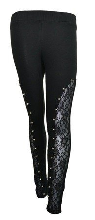 Legginsy BOUND LEGGINS marki Heartless by Poizen Industries