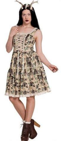 Sukienka marki Hell Bunny GEORGIE DRESS.