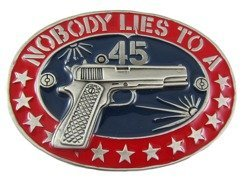 Klamra do paska - Nobody lies to a 45
