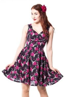 Sukienka pin up rockabilly Vespera Dress