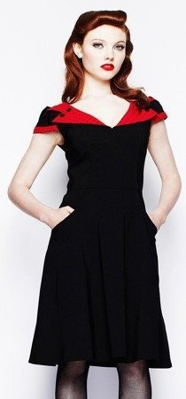 Sukienka retro Hell Bunny EVIE DRESS